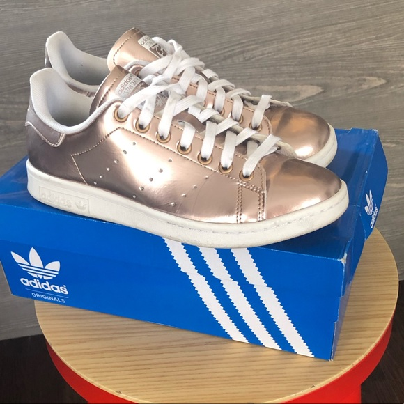 28d6603e43c adidas Shoes | Stan Smith In Rose Gold | Poshmark